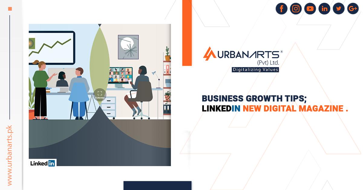LinkedIn New Digital Magazine